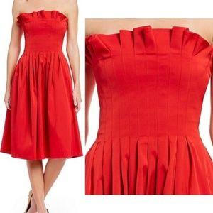 Nwt Alicia Strapless Dress Size